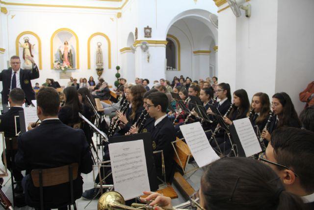 Misa amenizada por la Banda Municipal de Música en honor a Santa Cecilia - 1, Foto 1