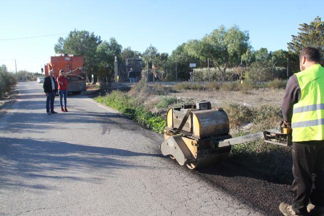 La Concejalía de Obras desarrolla actuaciones de mejora en más de 20 caminos rurales - 1, Foto 1
