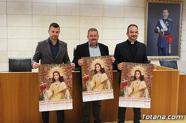 Se presenta el programa de actos religiosos de las fiestas patronales de Santa Eulalia´2018, Foto 2