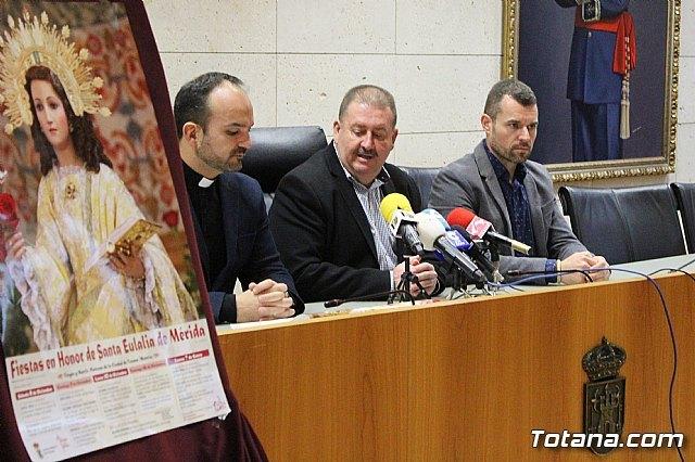 Se presenta el programa de actos religiosos de las fiestas patronales de Santa Eulalia´2018, Foto 3