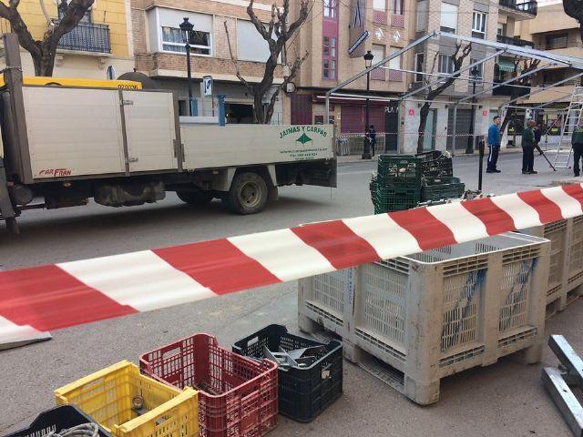 Desde hoy y hasta el 10 de diciembre se corta al tráfico la calle Sol por la instalación de la Carpa de la Feria de Día - 3, Foto 3