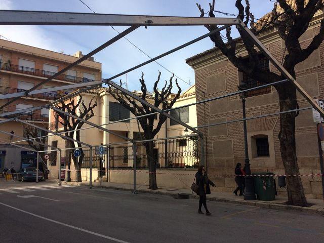 Desde hoy y hasta el 10 de diciembre se corta al tráfico la calle Sol por la instalación de la Carpa de la Feria de Día - 4, Foto 4
