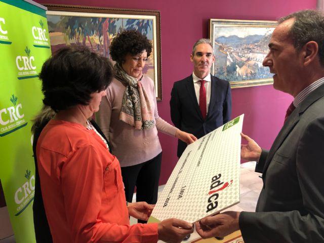 Caja Rural Central entrega 2.001 euros a la asociación lumbrerense de personas con discapacidad Adica - 2, Foto 2