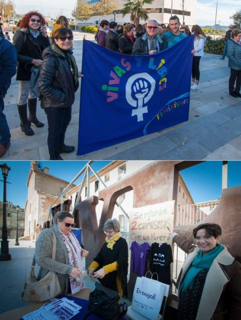 Podemos Cieza estuvo presente en el Día Contra la Violencia hacia las Mujeres - 1, Foto 1
