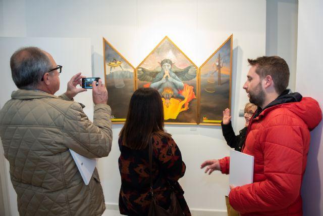 Martínez Cánovas expone en Casas Consistoriales hasta el 12 de enero - 2, Foto 2