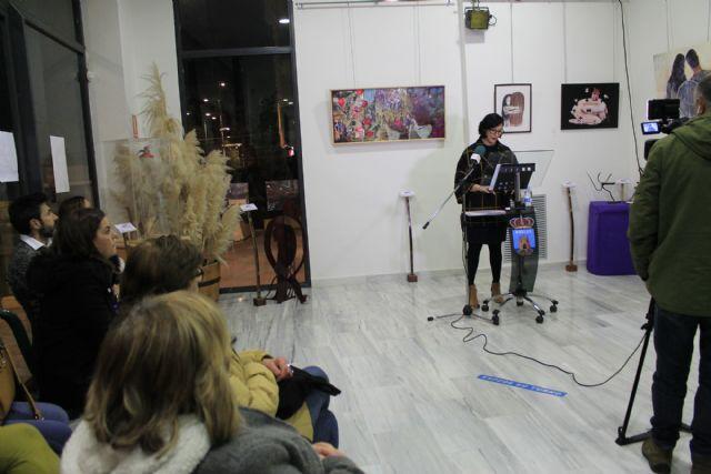 Entregados los premios de los certámenes de dibujo, pintura y escultura además del concurso de relatos hiperbreves con el tema de la violencia de género - 2, Foto 2