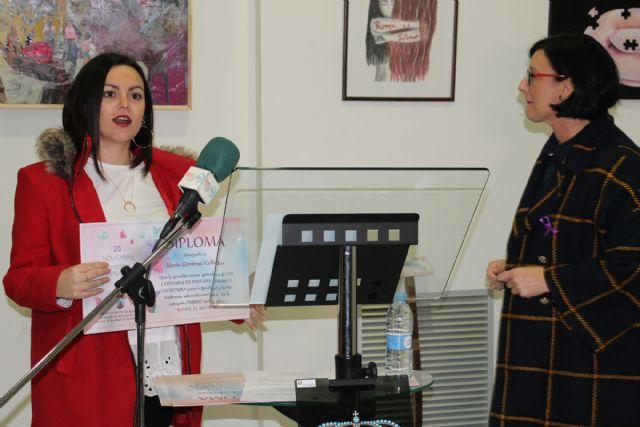 Entregados los premios de los certámenes de dibujo, pintura y escultura además del concurso de relatos hiperbreves con el tema de la violencia de género - 3, Foto 3