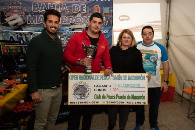 Pedro José Navarro del Club Todomar de Elche logró el primer premio en el XIV Open de Pesca Bahía de Mazarrón - 1, Foto 1