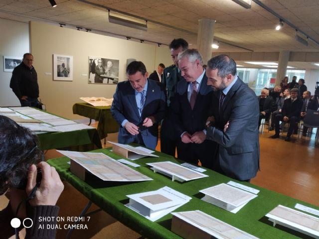 Mazarrón recupera 14 documentos intervenidos en la operación