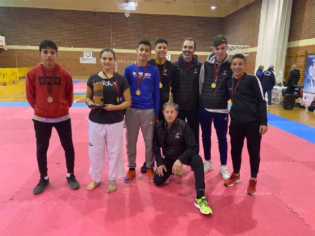 El Club Taekwondo Mazarrón obtiene 7 medallas en el campeonato regional de Torre Pacheco, Foto 1