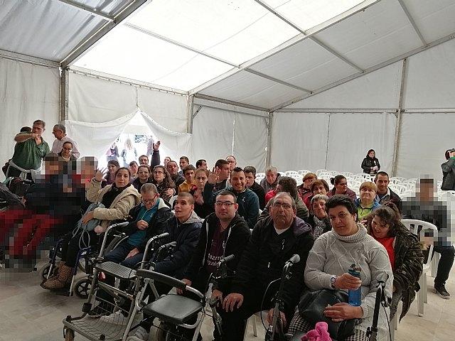 El Centro de Día de Personas con Discapacidad participa en las actividades contra la violencia de género - 1, Foto 1