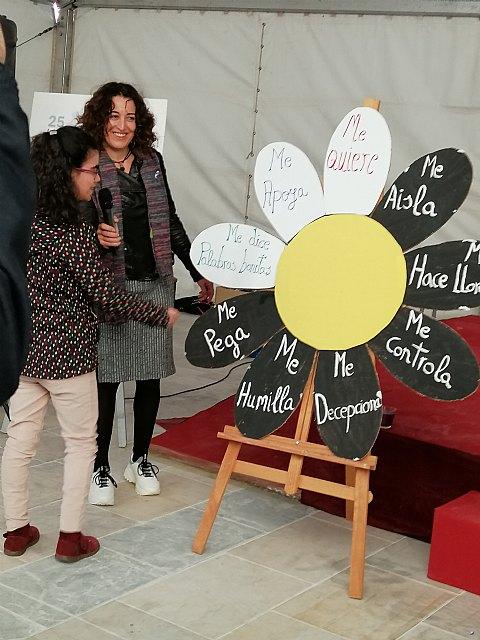 El Centro de Día de Personas con Discapacidad participa en las actividades contra la violencia de género - 2, Foto 2
