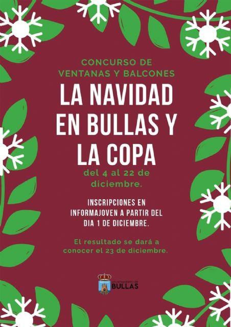 Concurso de decoración de ventanas y balcones 'La Navidad en Bullas' - 1, Foto 1