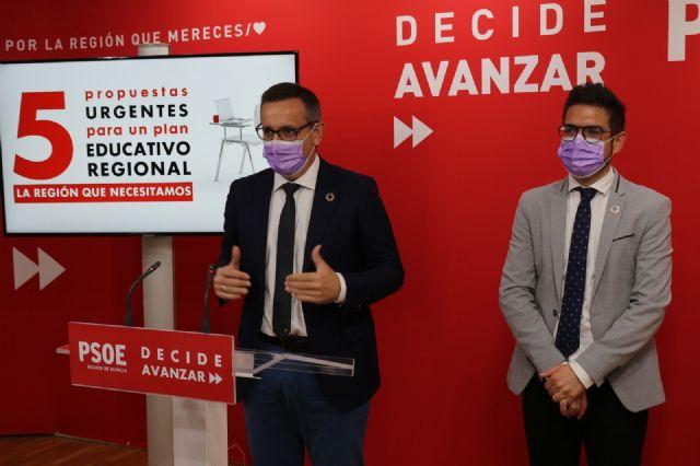 Diego Conesa: La Región necesita un plan educativo urgente que contemple la presencialidad total en las aulas y los recursos necesarios - 1, Foto 1