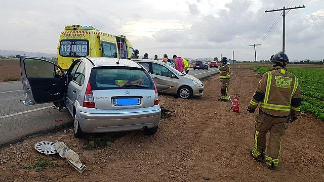 Fallece una mujer al colisionar dos turismos en la carretera La Palma-Torre Pacheco - 1, Foto 1