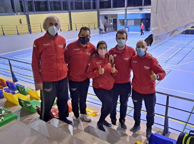 Gran actuación del Bádminton Las Torres en la prueba de Barcelona del circuito nacional senior - 1, Foto 1