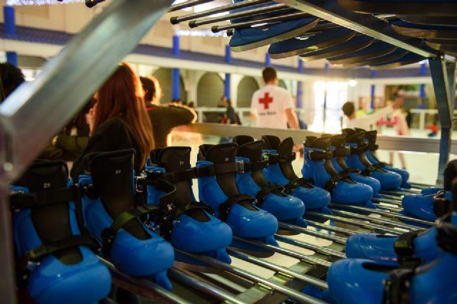 Pista de patinaje en la plaza de abastos de puerto de Mazarrón hasta el 8 de enero, Foto 2