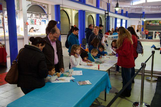 Pista de patinaje en la plaza de abastos de puerto de Mazarrón hasta el 8 de enero, Foto 5