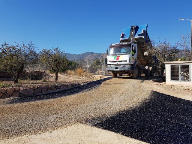 Las obras de acondicionamiento del camino de El Romeral entran en su última fase, Foto 1