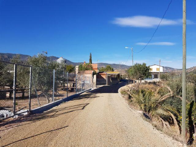 Las obras de acondicionamiento del camino de El Romeral entran en su última fase, Foto 2