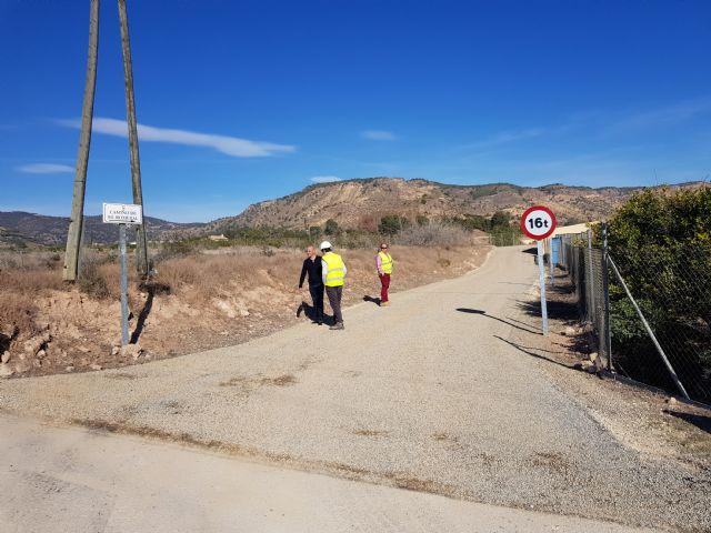 Las obras de acondicionamiento del camino de El Romeral entran en su última fase, Foto 3
