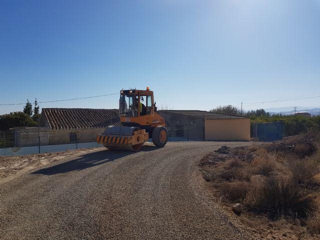 Las obras de acondicionamiento del camino de El Romeral entran en su última fase, Foto 4
