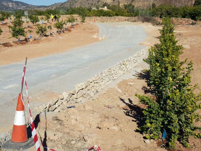 Las obras de acondicionamiento del camino de El Romeral entran en su última fase, Foto 5