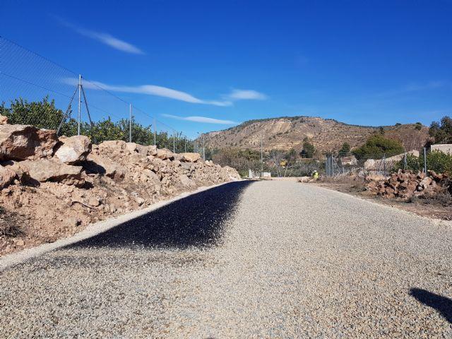 Las obras de acondicionamiento del camino de El Romeral entran en su última fase, Foto 6