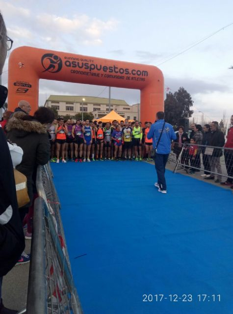 Participation of the Totana Athletics Club in San Silvestre de Huércal-Overa - 2
