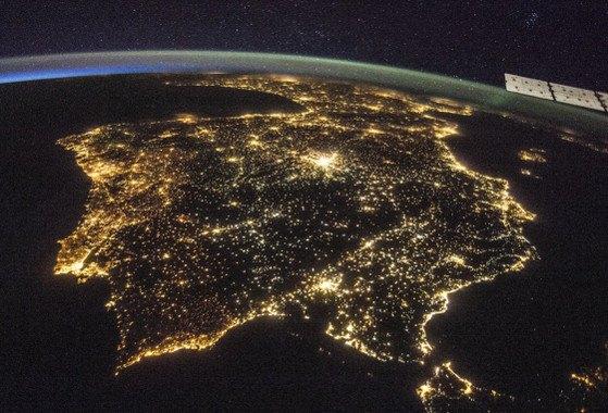 La Navidad incrementa la contaminación lumínica