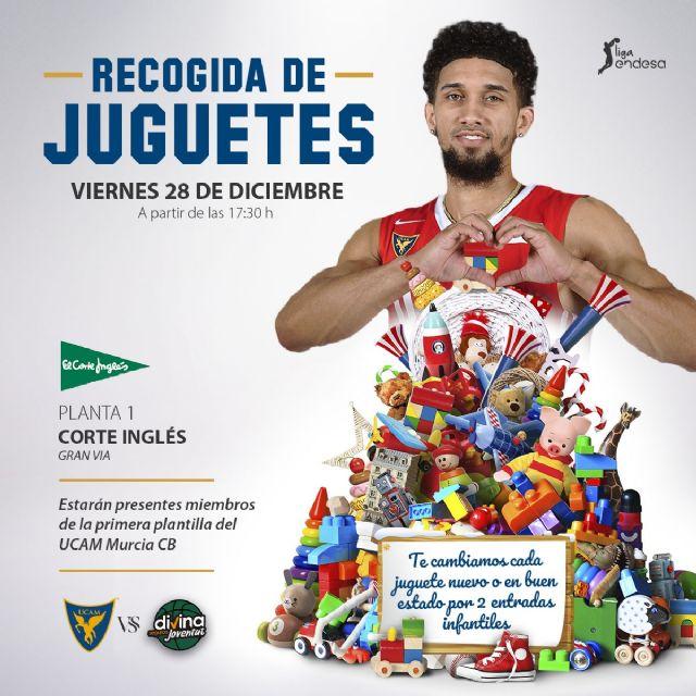 ¡Recogida de juguetes solidarios en El Corte Inglés de Murcia! - 1, Foto 1