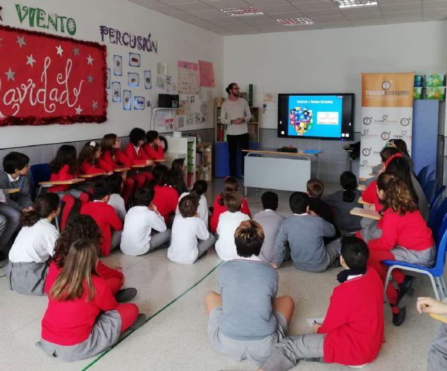THADERCONSUMO enseña a los escolares de la Región de Murcia inventos que cambiaron nuestra vida - 1, Foto 1