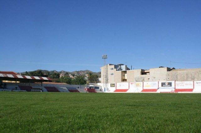 "The work of replanting the lawn of the municipal stadium ""Juan Cayuela"", which may be used in a reasonable time - 2"