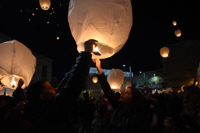 Farolillos Solidarios iluminan el cielo de Calasparra - 3, Foto 3