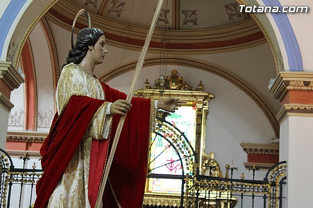 Tomorrow the celebration of the Eucharist in honor of San Juan will take place in the Parish of Santiago el Mayor, Foto 2