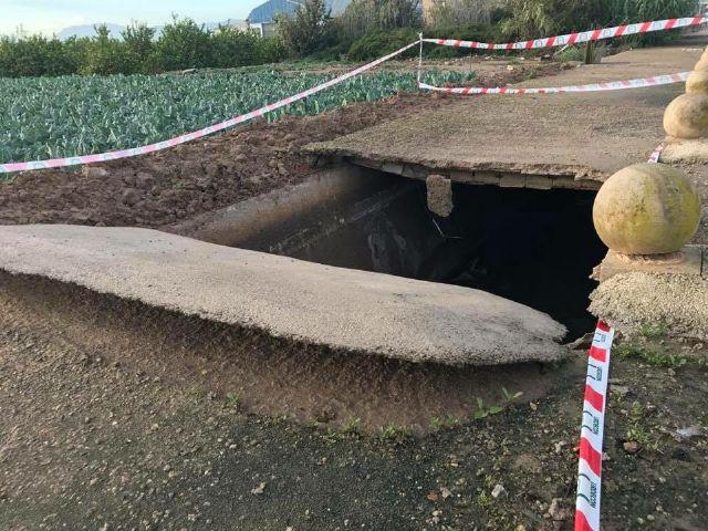 El PSOE de El Raal ignora a sus vecinos y no soluciona los problemas causados por las lluvias - 2, Foto 2