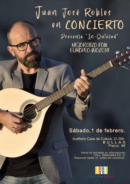 Juan José Robles presenta su álbum 'In-quietud' este sábado en Bullas - 1, Foto 1