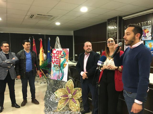 Un caballito de mar anunciará el Carnaval de Santiago de la Ribera 2020 - 2, Foto 2