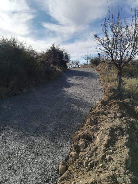 Acondicionado el firme del camino de El Zorro en el término de Bullas - 1, Foto 1