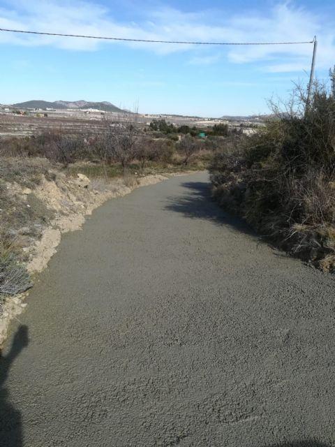 Acondicionado el firme del camino de El Zorro en el término de Bullas - 2, Foto 2