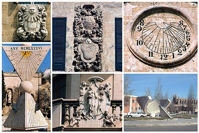 Imágenes de algunos de los relojes solares ubicados en Palma - © Miquel Àngel Garcia Arrando, Foto 1