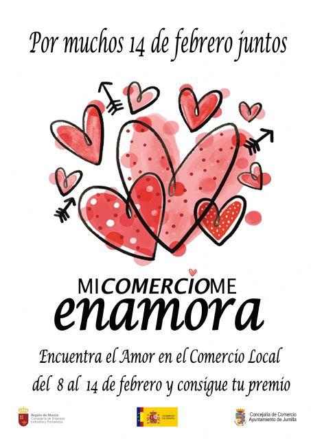 El Ayuntamiento premiará las compras en Jumilla del 8 al 14 de febrero a través de la campaña 'Mi comercio me enamora' - 1, Foto 1