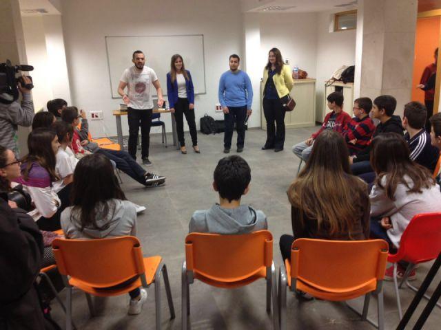 Un joven belga con discapacidad visual colaborará como voluntario en el  programa Proyectos Europeos del Ayuntamiento de Murcia - 1, Foto 1