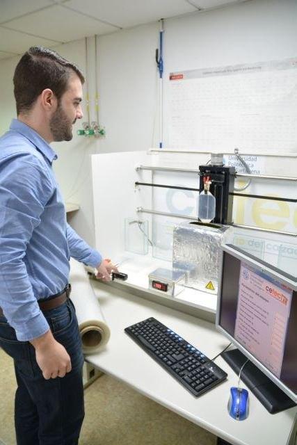 Un estudiante de la UPCT automatiza la investigación del CETEC sobre recubrimientos para films de conservación, Foto 2