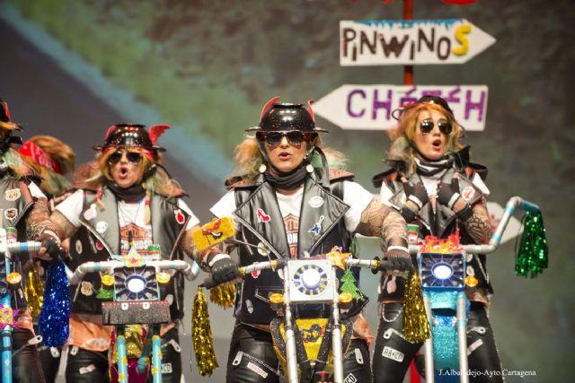 Las Chochonis triunfan a todo gas en el concurso de chirigotas - 1, Foto 1