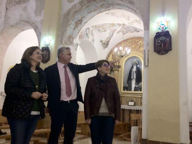 La Comunidad finaliza la restauración de la imagen de la patrona de Albudeite - 1, Foto 1