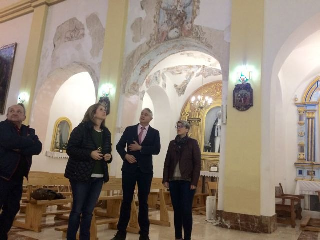 La Comunidad finaliza la restauración de la imagen de la patrona de Albudeite - 2, Foto 2
