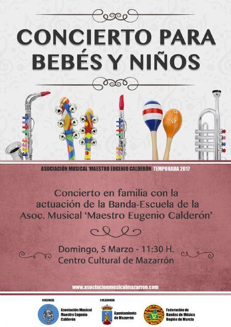Nuevo concierto para bebés de la banda-escuela de música, Foto 1
