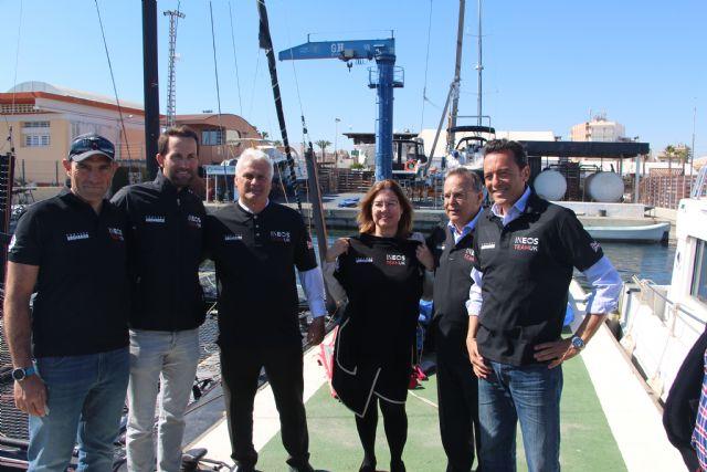 San Pedro del Pinatar acoge al equipo Ineos UK que prepara en el Mar Menor su participación en la Copa América de vela - 1, Foto 1