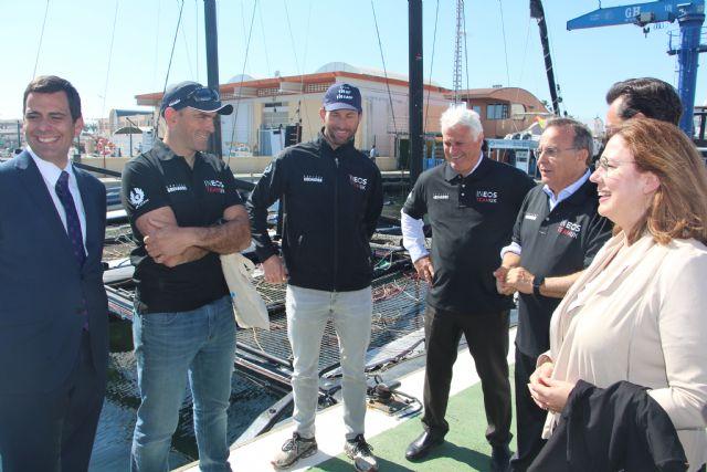 San Pedro del Pinatar acoge al equipo Ineos UK que prepara en el Mar Menor su participación en la Copa América de vela - 2, Foto 2